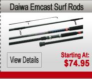 Daiwa Emcast Surf Rods